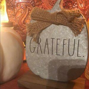 Rae Dunn decorative pumpkin
